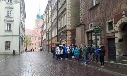 Wycieczka gimnazjalna do Warszawy