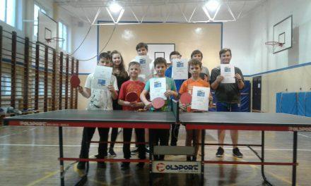 Mistrzostwa SP 1 Szczyrk w tenisie stołowym