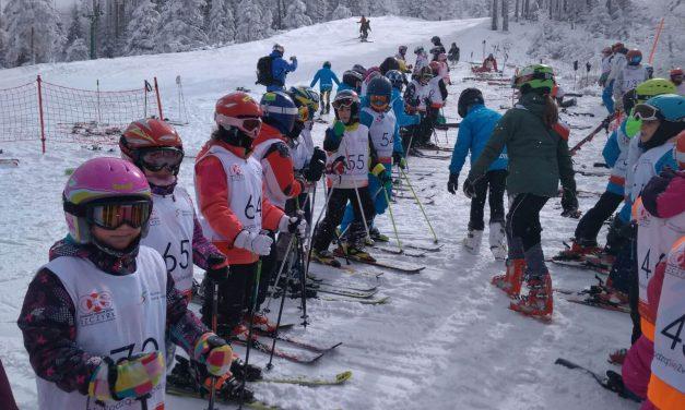 Narciarskie Mistrzostwa Szczyrku Dzieci iMłodzieży